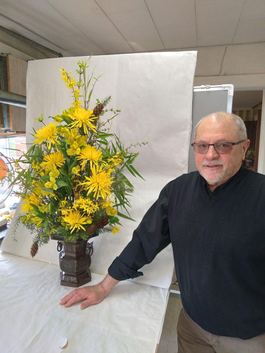Les Hitsman floral arrangements