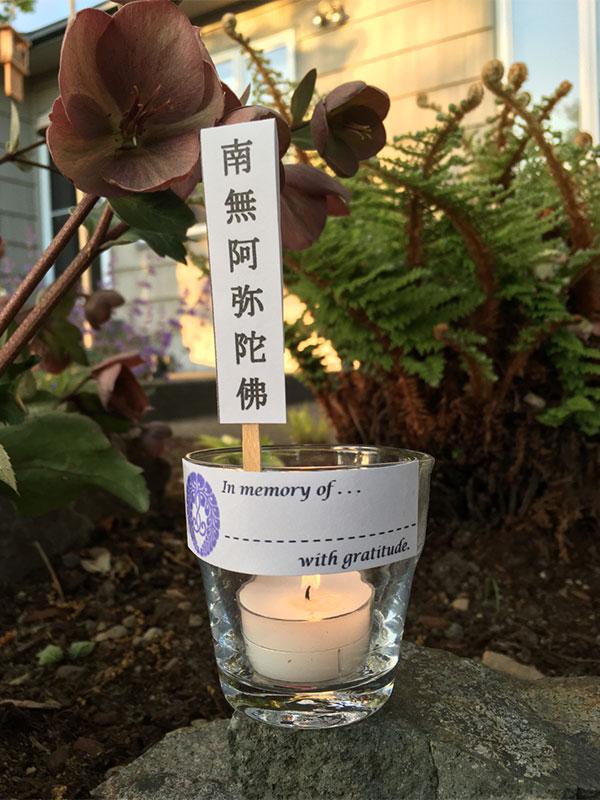 Hatsubon-Urabon Candle